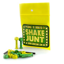 "Sj Bag-O-Bolts All Grn & Yel 1"" Phillips 1Set"