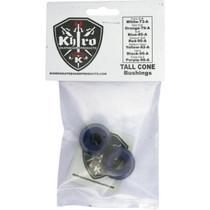 Khiro Tall Cone Bushing Set 85A Soft Blue
