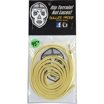 "Bulletproof Kevlar Shoe Laces 45"" Gold Single Set"