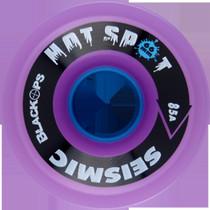 Seismic Hot Spot 66Mm 85A Tran.Purple/Blu
