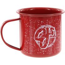 Oj Camp Mug Red