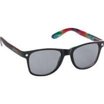 Glassy Leonard Blk/Tie-Dye Sunglasses