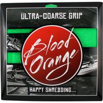 Blood Org X-Coarse Grip Squares-Neon Grn 4Pcs10X11