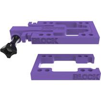 Block Riser Goblock Risers Kit Purple