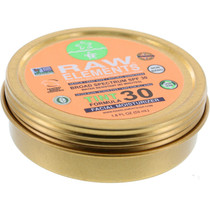 Raw Elements Tint Facial Moisturizer 30+ Tin 1.8Oz