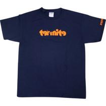 Termite Logo Yth Ss L-Navy/Org