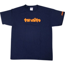 Termite Logo Yth Ss M-Navy/Org
