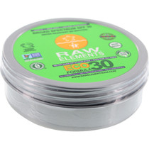 Raw Elements Eco Formula 30+ Lotion Tin 3Oz