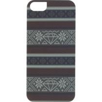 Diamond Iphone5 Fairisle Case Burgundy Sale
