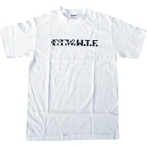 Skate Mental Ftw Wtf Ss L-White