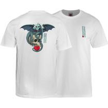 Pwl/P Dragon Skull Ss S-White