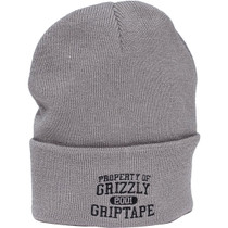 Grizzly Property Of Grizzly Beanie Grey
