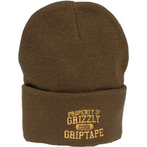 Grizzly Property Of Grizzly Beanie Military Green