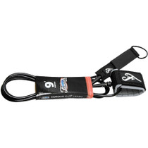Famous Deluxe Everyday 6' Black Leash