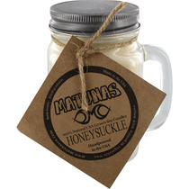 Matunas Soy Candle 16Oz Glass Mug-Honeysuckle