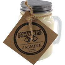 Matunas Soy Candle 16Oz Glass Mug-Jasmine