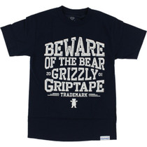 Grizzly Distress Ss Xxl-Navy/Wht