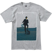 Hab/Pink Floyd Invisible Man Ss S-Heather Grey