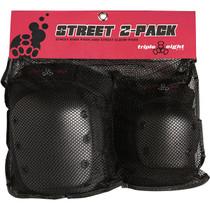 Triple 8 Street 2/Pack Jr Black