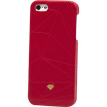 Diamond Iphone5 Slider Case-Leather Red Sale