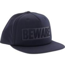Grizzly Beware Hat Adj-Navy