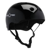 Protec Classic Gloss Black-L Helmet