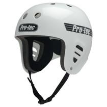 Protec Fullcut Classic Gloss Wht-L Helmet