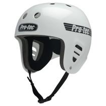 Protec Fullcut Classic Gloss Wht-Xs Helmet