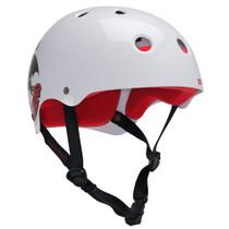 Protec Cab Classic L-Gloss Wht Dragon Helmet