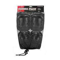 187 Combo Pack Knee/Elbow Pad Set Xs-Black
