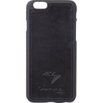 Diamond Iphone-6 Leather Case Black