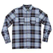 Santa Cruz Cliff Button Up L/S S-Blue Plaid
