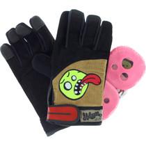 Holesom Cords Slide Gloves S/M-Blk/Brn/Asst