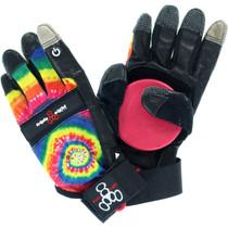 T8 Downhill Slide Gloves S/M-Tie Dye/Blk