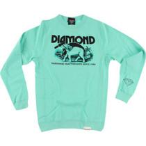 Diamond Ivory Crew/Swt Xxl-Diamond Blue/Blk