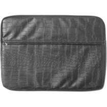 Diamond Croc Laptop Bag Black