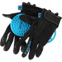Rayne High Society V2 Slide Gloves Xs-Black/Cyan