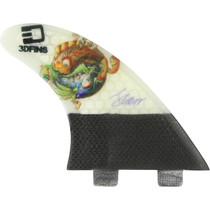 3D Darkside Carbon Twin-Tab 7.0 Ying Yang Fish