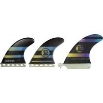 3D Fastlight Surfsup 2+1 Sm Full-Base Bk/Yl/Pur
