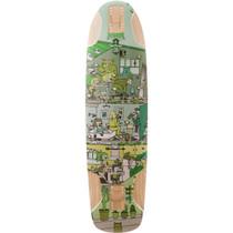 Kebbek Topmount Skatehouse Deck-9.5X36 Grn Sale