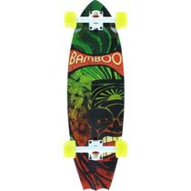 Bamboo Skate Battail Rasta Tiki Complete-9.25X31.5