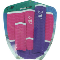 Zap Cube Tail/Arch Bar Set Pink/Pur/Wht