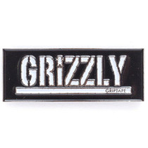 Grizzly Box Logo Pin