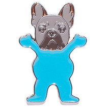 Grizzly Frenchie Pin
