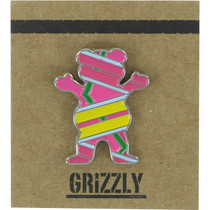 Grizzly Hover Bear Pin