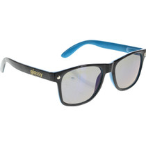 Glassy Leonard Blk/Blu/Blu Mirror Sunglasses
