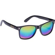 Glassy Leonard Blk/Colored Mirror Sunglasses