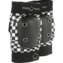 Protec Street Elbow S-Check Blk/Wht