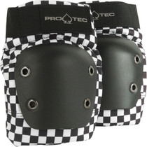 Protec Street Knee M-Check Blk/Wht