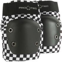 Protec Street Knee S-Check Blk/Wht